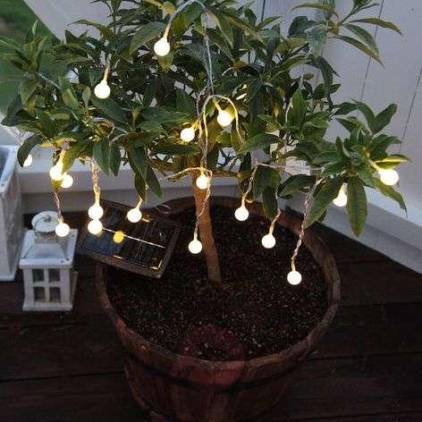 LED-valosarja Globini, lämmin valkoinen