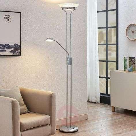 LED-ylösvalo Dimitra, lukulamppu, kromi
