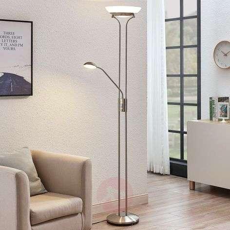LED-ylösvalo Dimitra, lukulamppu, nikkeli