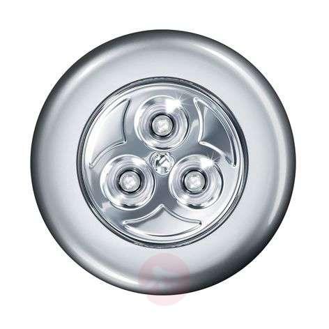 LEDVANCE DOT-it classic LED-valaisin hopea