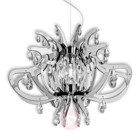 Lillbet - hopeanvärinen design-riippuvalaisin