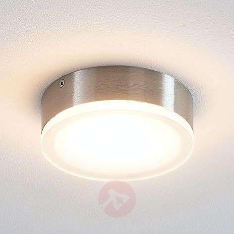 Lindby Leonta LED-kattovalaisin, nikkeli