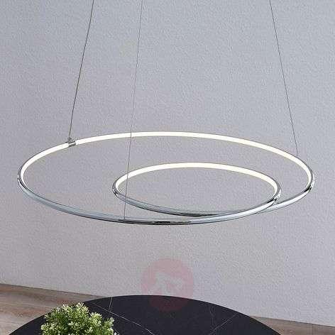 Lindby Lucy LED-riippuvalaisin, 70 cm, kromi