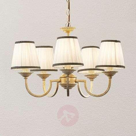 Lindby Lumiel -kattokruunu, 5-lamppuinen