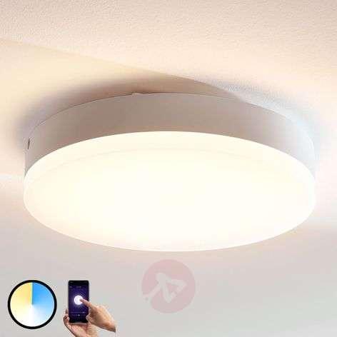 Lindby Smart LED-kattovalaisin Chester, pyöreä