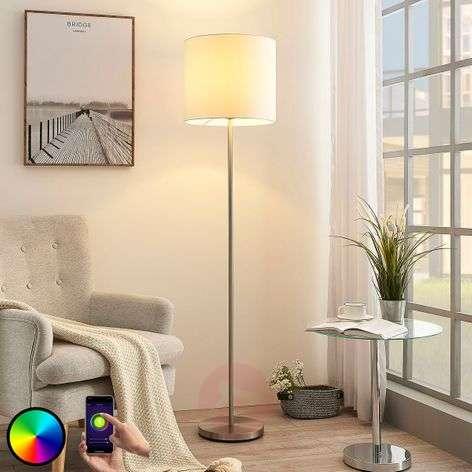 Lindby Smart LED-lattiavalaisin Everly app, RGB