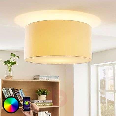 Lindby Smart RGB-LED-kattovalaisin Everly app