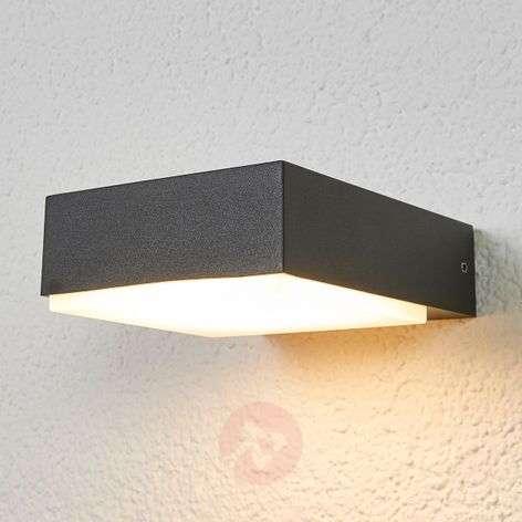 Litteä alaspäin valaiseva LED-seinävalaisin Pepe