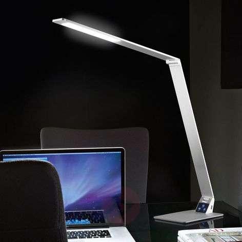Litteä LED-työpöytävalaisin Wasp alumiinia