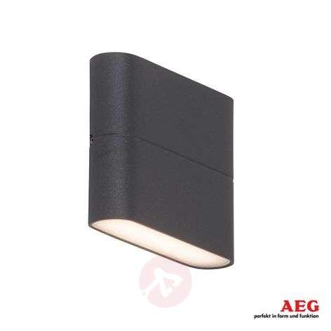 Litteä LED-ulkoseinälamppu Telesto - 11,5 cm leveä