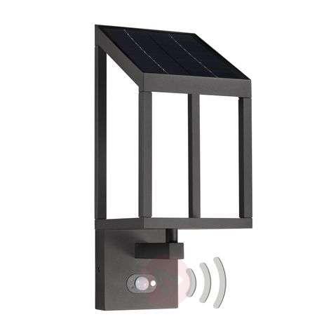 Lucande Timeo LED-aurinko-ulkoseinävalaisin