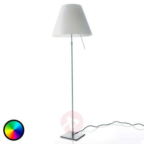 Luceplan Costanza lattiaval., Philips Hue -lamppu