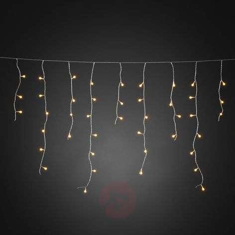 Lumoava LED-valoverho Jääsade 200-lamppuinen