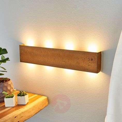 Maja – ruostepintainen himmennettävä LED-seinävalo