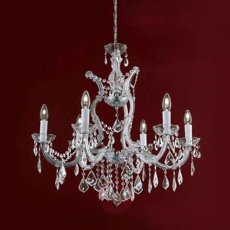 Maria Theresia - ylellinen kristallikattokruunu