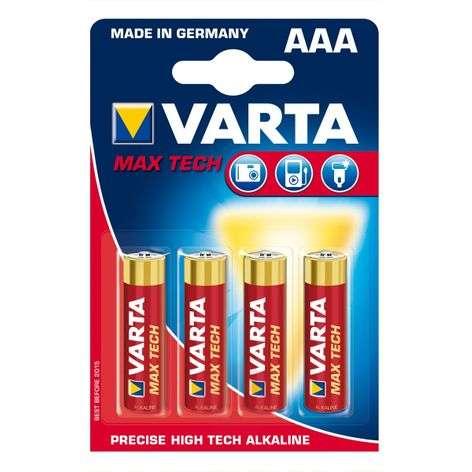 Max Tech -paristo AAA Micro 4703 4kpl läpipaino