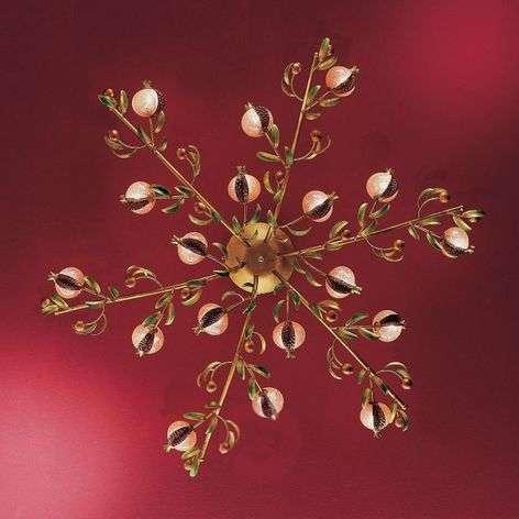 Melograno-kattovalaisin, 18-lamppuinen