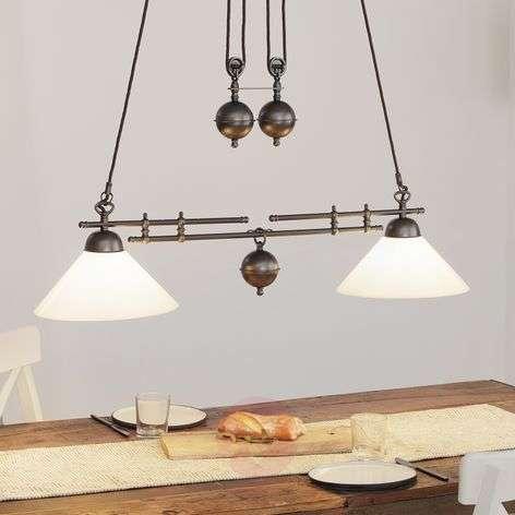 Menzel Anno 1900 muunneltava riippuvalaisin 2-lamp