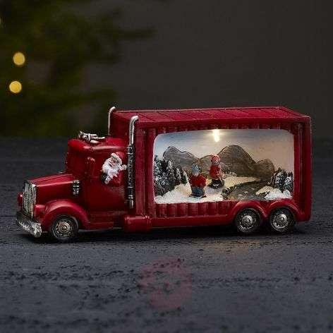 Merryville - LED-valaisin joulupukin kuorma-auto