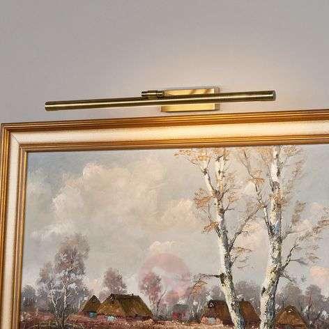 Merte-tauluvalaisin LED antiikkimessinki