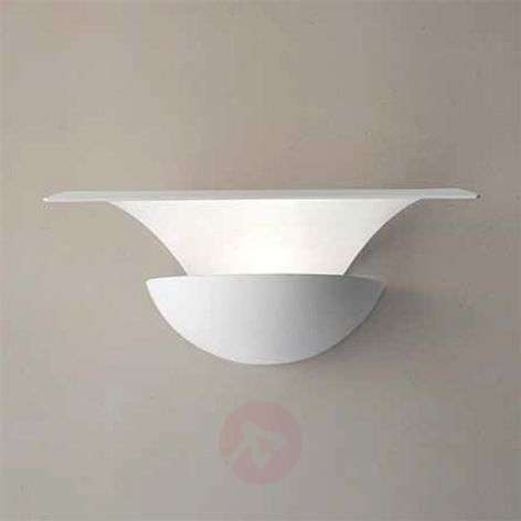 Metallinen LED-seinävalaisin Blossomy, valkoinen
