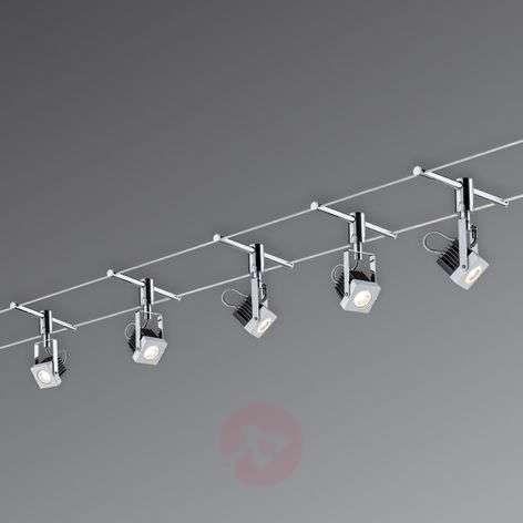Mezzo – LED-kokonaisvaijerijärjestelmä 5lamppua