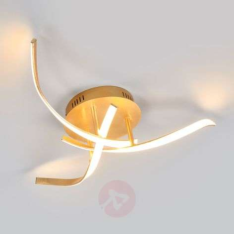 Milane – kullanvärinen, kirkas LED-kattolamppu-9985057-32