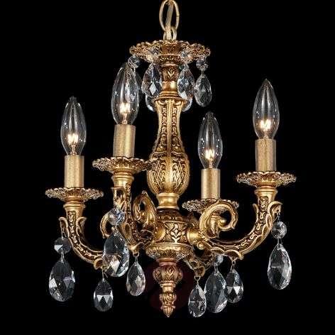 Milano-kattokruunu kristalleilla, 4-lampp.