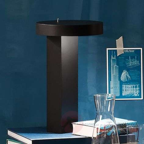 Minimalistinen design-LED-pöytävalaisin Bob-1071070X-31