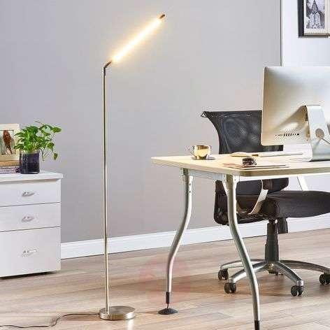 Minimalistinen LED-lattiavalaisin Jabbo, lukuvalo