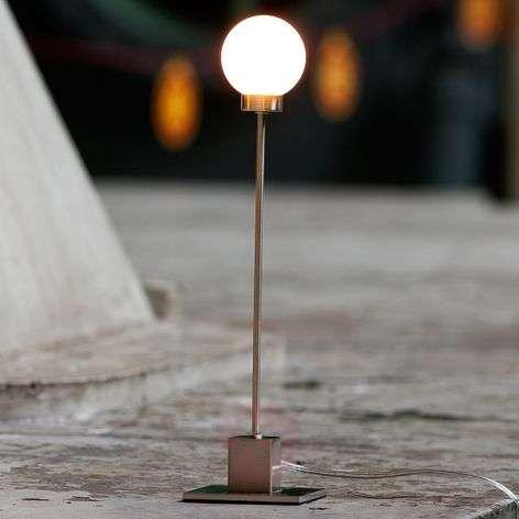 Minimalistinen pöytälamppu Snowball, metallinen-7013082-31