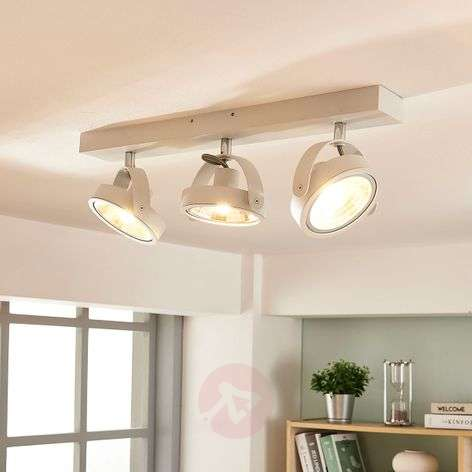 Moderni LED-kattolamppu Lieven, valkoinen