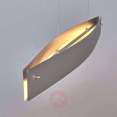 Moderni LED-riippuvalaisin Malu, matta-alumiini