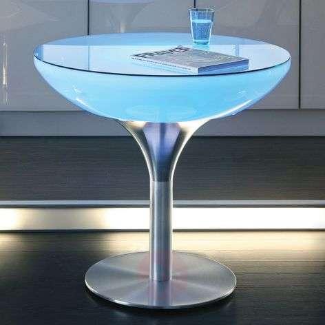 Monivärisesti valaiseva Lounge Table LED Pro