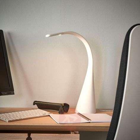 Muodikas Majani-pöytälamppu LED, himmennettävä USB