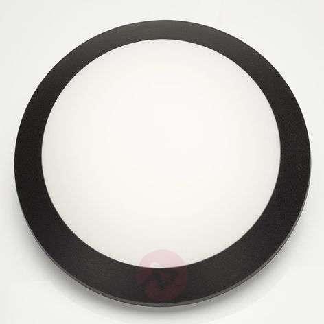 Musta LED-seinävalaisin Umberta 11W lämmin valk.
