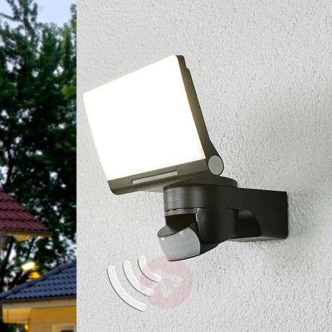 Musta LED-ulkoseinävalaisin XLED Home 2, tunnist.