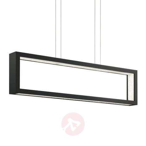 Musta Revealed Open LED-riippuvalaisin kristall.