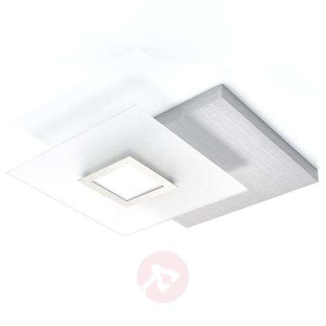 Näyttävä LED-kattovalaisin Flat, himmennettävä