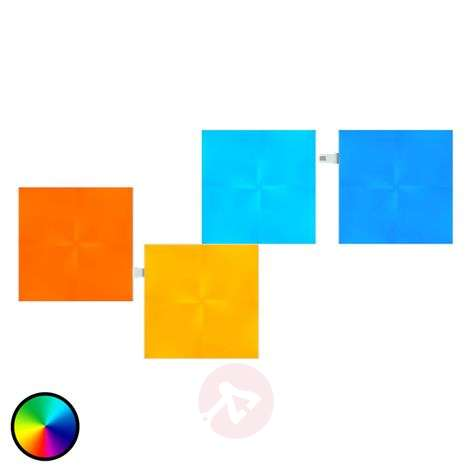 Nanoleaf Canvas laajennus, jossa 4 paneelia