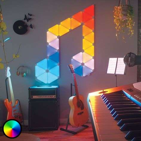 Nanoleaf Light Panels Rhythm Edition, 15 paneelia