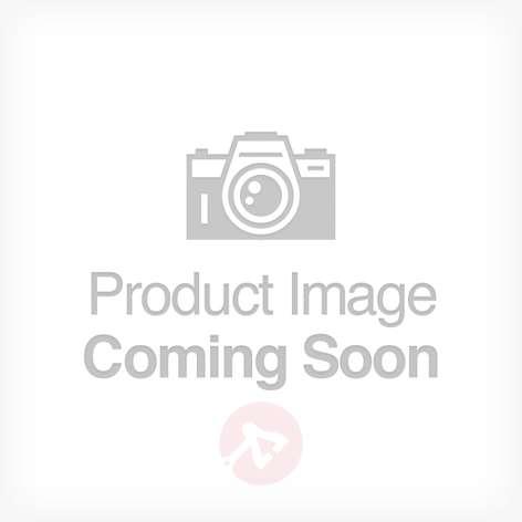Nelikulmainen lasikattolamppu Alina, kromi