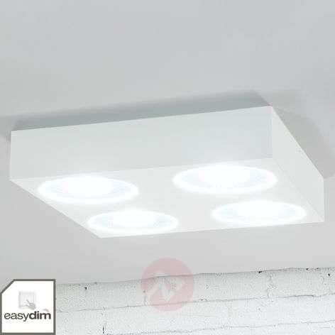 Nelikulmainen LED-Easydim-kattovalaisin Sonja