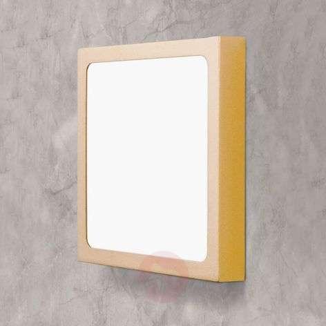 Nelikulmainen LED-kattovalaisin Vika
