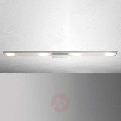 Nelilamppuinen LED-kattovalaisin Slight
