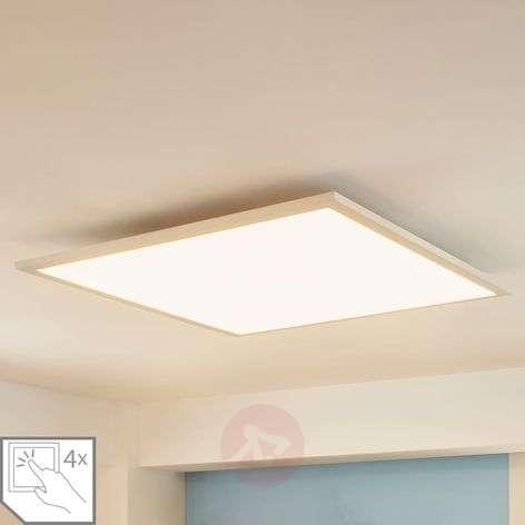 Neliömäinen LED-paneeli Enja, 62 x 62 cm