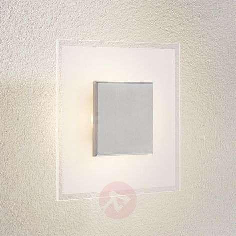 Neliskanttinen LED kattovalaisin Lole lasi