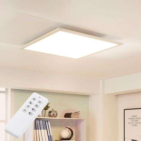 Neliskulmainen LED-kattovalaisin Lysander, himm.