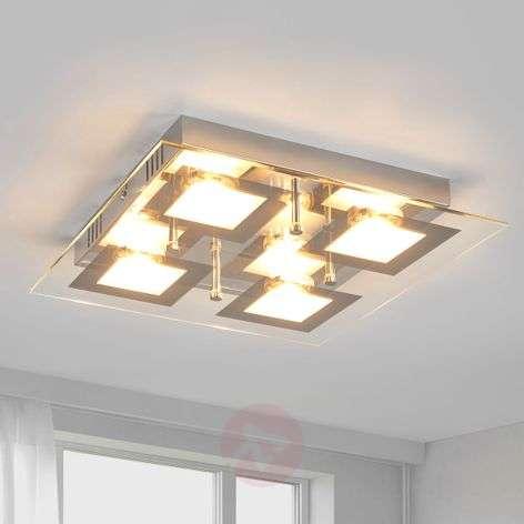 Neliskulmainen Manja LED-keittiövalaisin