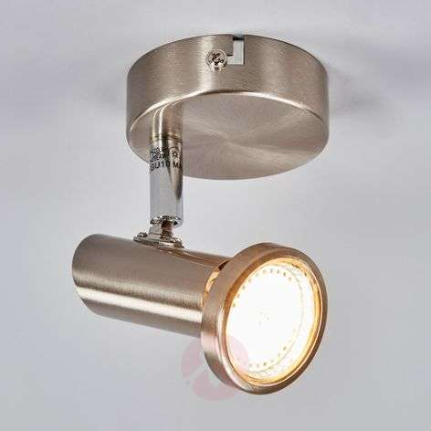 Nikkelin värinen Cosma LED-seinävalaisin-9970069-31